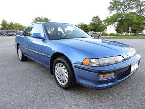 1992 acura integra ls captiva blue pearl