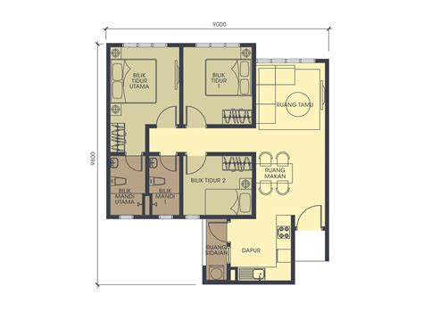 layout plan rumah harmoni 1 sime darby property
