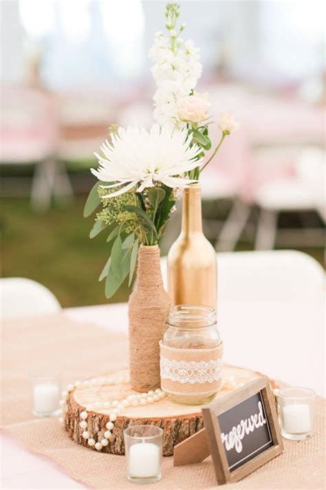 58 Simple but Beautiful Wedding Centerpieces Ideas using