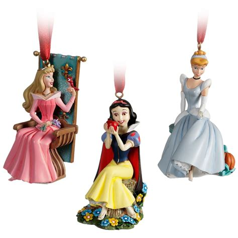 limited edition 10 piece princess ornament set disney
