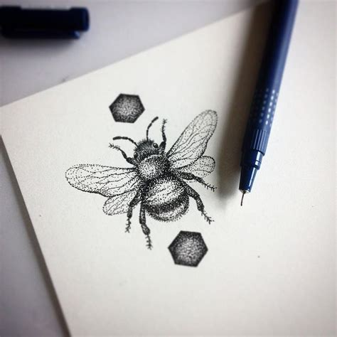 tattoo with printer ink best 25 bumble bee tattoo ideas on pinterest bee tattoo