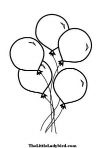 balloon coloring page balloons coloring pages for children barriee