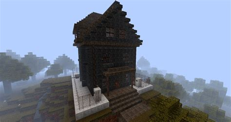 haunted house in minecraft redxuchilbara s haunted house creation minecraft worlds curse