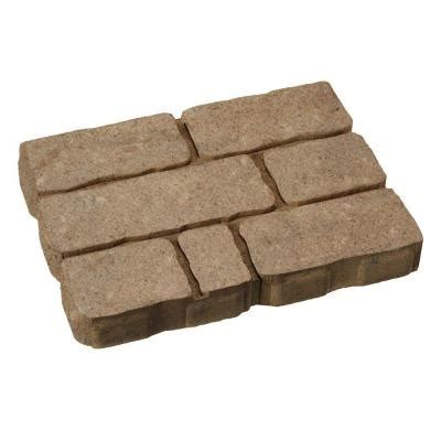 lightweight patio stones valestone hardscapes rockford 12 in x 16 in light brown avondale patio 12052372 the