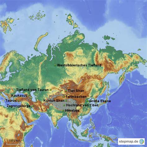 Asiat Gebirge by Landkarte Gebirge Hanzeontwerpfabriek