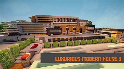 Luxurious Modern House 3   Mansion ? Minecraft Building Inc