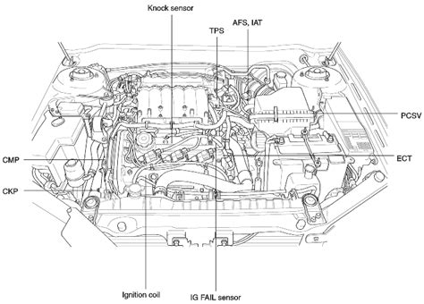 2005 kia sedona engine diagram 2005 get free image about