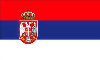 how to draw serbia flag