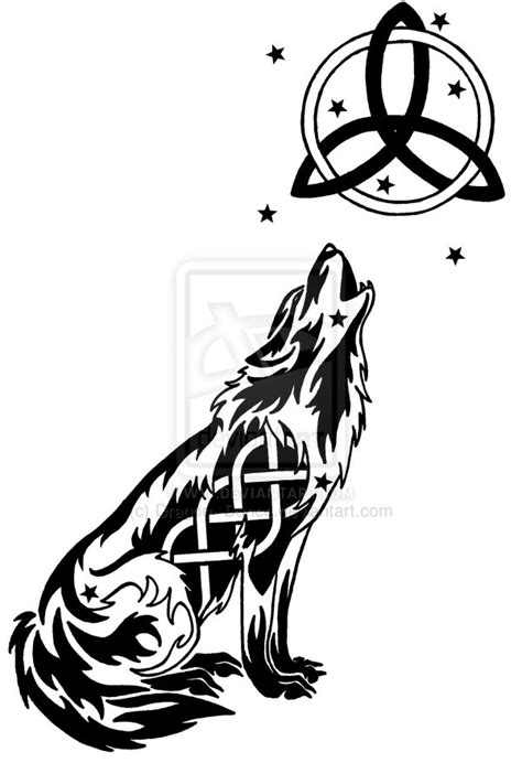 celtic moon a celtic wolves novel starry celtic wolf and moon by dansudragon on