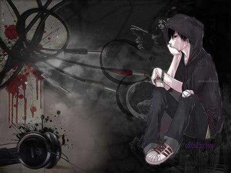 psp themes anime girl emo anime wallpaper wallpapersafari