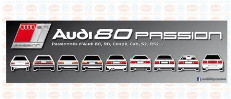 Audi Cabriolet Forum by La Passion Des Audi 80