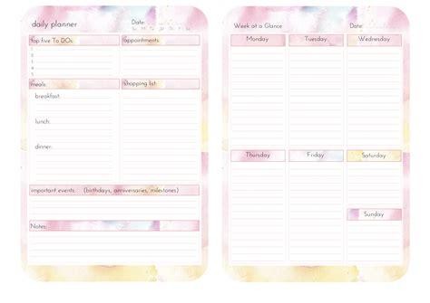 monthly planner 2016 printable tumblr 24 images of weekly calendar template tumblr adornpixels com