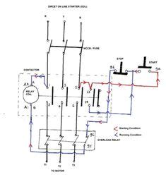 phase contactor wiring diagram electrical info pics  stop engineering pinterest infos