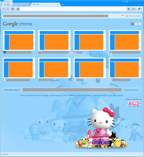 hello kitty themes google chrome hello kitty google chrome sonic wallpaper