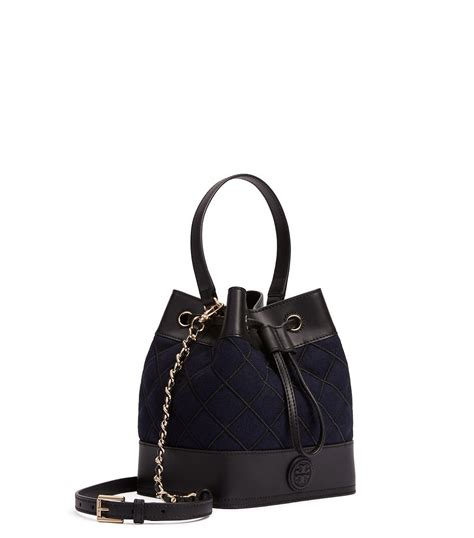 Burch Stacked Small Satchel And Marion Drawstring burch marion quilted flannel mini bag in blue lyst
