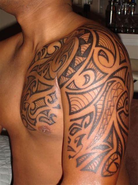hawaiian tribal half sleeve tattoos 25 hawaiian tattoos
