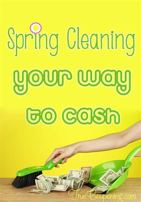 spring cleaning meaning save money on spring cleaning and make cash too