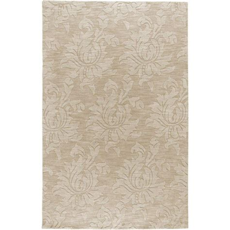 home depot wool area rugs artistic weavers sofia beige wool 8 ft x 10 ft area rug the home depot canada