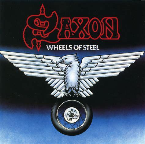 Kaos Fangkeh Saxon Wheels Of Steel saxon wheel of steel 洋楽 ハードロックの館 yahoo ブログ
