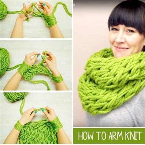 arm knitting scarf step by step 1000 ideas about arm knitting tutorial on