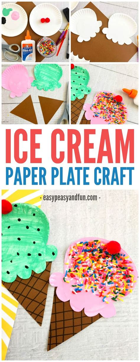 craft lessons for best 25 crafts ideas on icecream