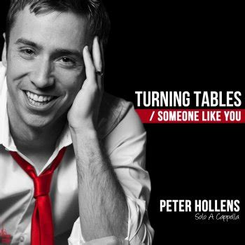 turning table testo testi turning tables someone like you a cappella