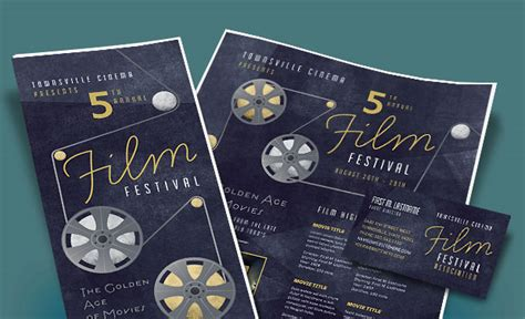 film festival marketing materials diy posters
