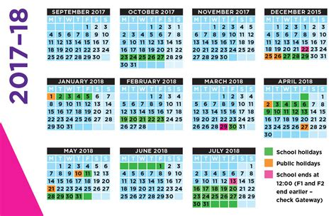 10 school calendar templates free sample example format free