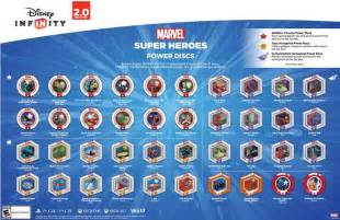 Power Disc Disney Infinity List Of Power Discs Unveiled For Disney Infinity