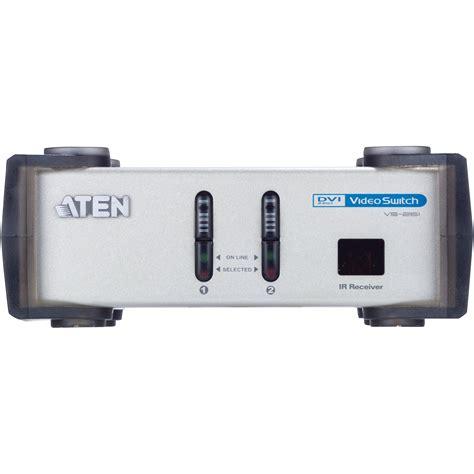 Aten Switch 2port Vs291 aten vs261 2 port dvi switch vs261 b h photo