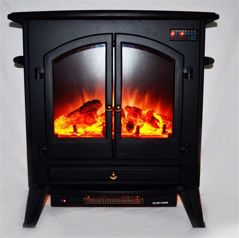 Standing Fireplace by Quot 24 Free Standing Electric Fireplace Heater W Quot