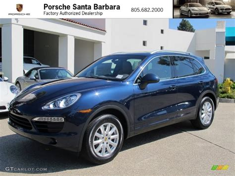 porsche blue metallic 2013 blue metallic porsche cayenne 70963181 photo 7