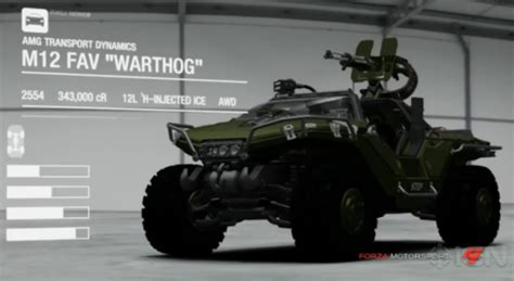 halo 4 warthog omfg the halo 4 warthog will debut on forza 4 the