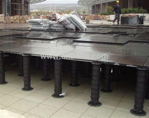 Adjustable Plastic Pedestal For Outdoor Raised Stone And