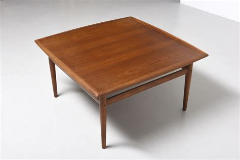Large Side Table Side Table 95x95 Grete Jalk Modestfurniture