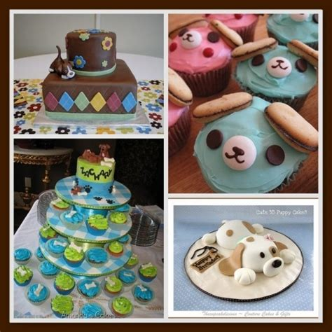 puppy themed baby shower puppy baby shower ideas