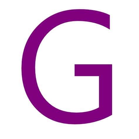 free purple letter g icon purple letter g icon