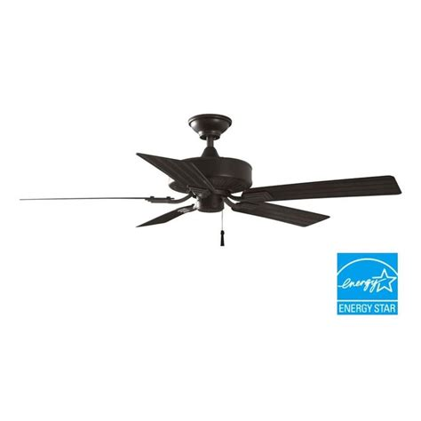 island style ceiling fans hton bay barrow island 52 in indoor outdoor natural