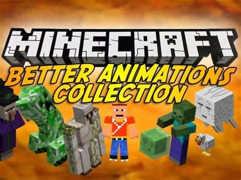 minecraft better animations mod minecraft better animations collection mod episode 915