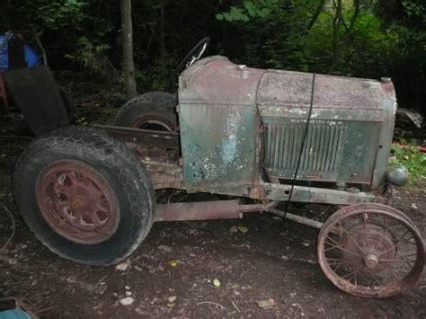doodlebug tractor plans live build drive