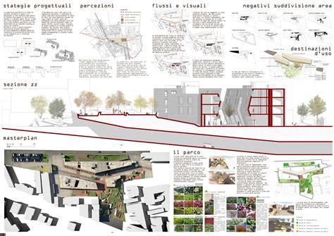 tavole di concorso architettura concorso di progettazione fbm ferretti studio