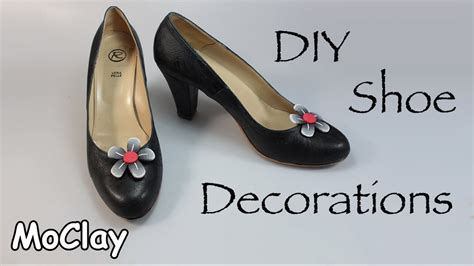 diy shoe decoration diy shoe decorations polymer clay tutorial