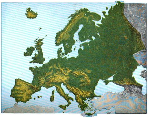 geographical map europe file maury geography 101a europe relief jpg