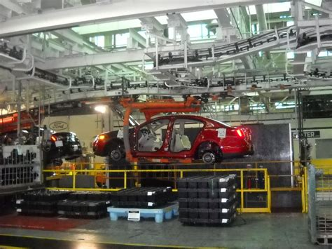 Ford Plant by Ford Car Assembly Plants