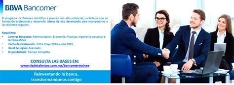 Itam Mba Curriculum by Programa De Trainees Bbva Bancomer Itam