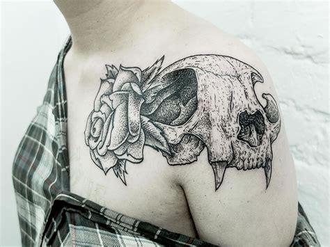 tattoo animal bones sliced bones tattoos from russia scene360