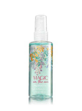 Bath And Works Shimmer Mist Magic In The Air magic in the air travel size fragrance mist