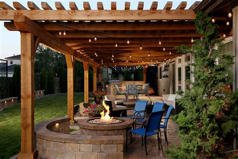 Backyard Sted Concrete Patio Ideas 16 Magical Rustic Patio Designs That You Will Fall In With