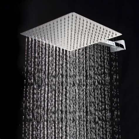 30cm 30cm square stainless steel ultra thin showerheads