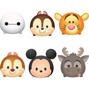 Tsum tsum stickers disney characters